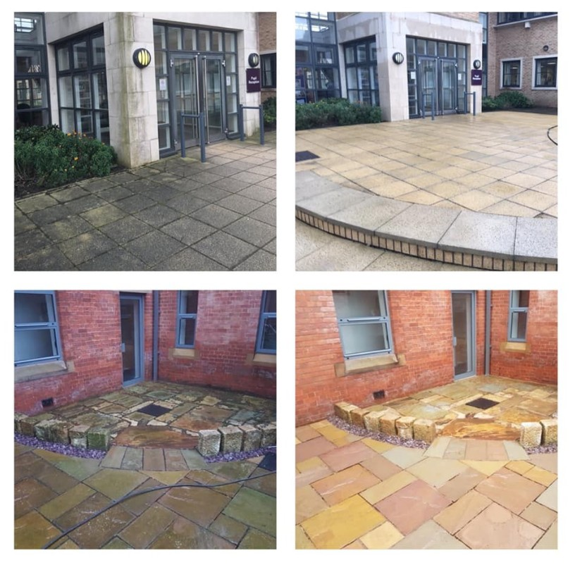 Jet washing service Leeds