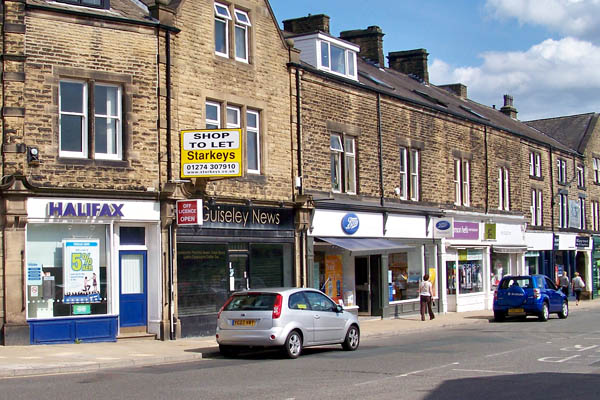 Guiseley shops