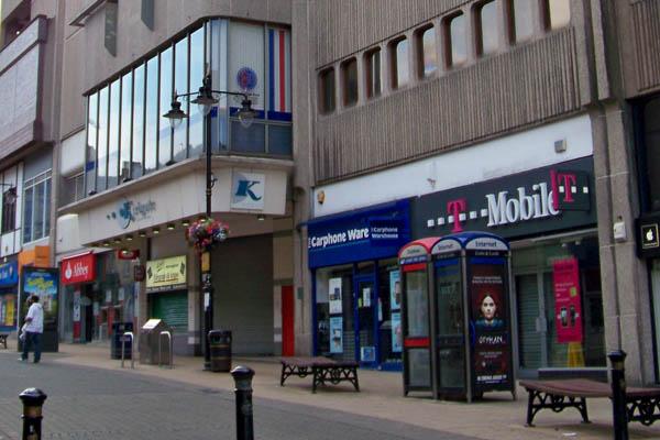 Shops in Bradford, West Yorkshire